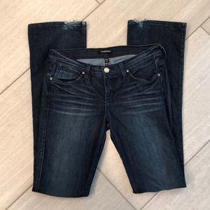 Bebe flare denim jeans
